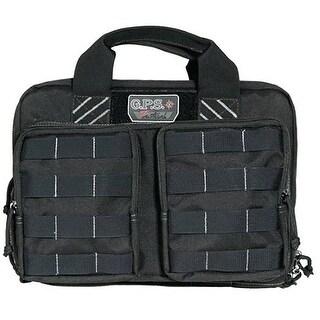 G-Outdoors G.P.S. Tactical Quad Plus 2 Pistol Case Black GPS-1311PCB - GPS-T1311CB