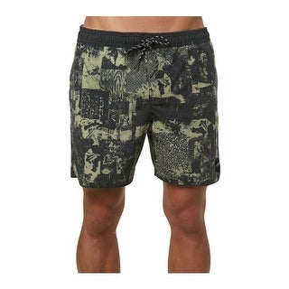 O'Neill Men's Hodge Podge Volley Cruzer Boardshort Army