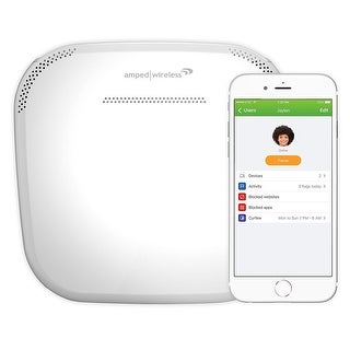 Amped Wireless Ally, Whole Home Smart Wi-Fi Router (Ally-R1900)