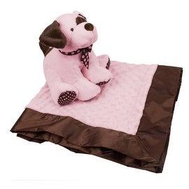 KidKraft Plush Puppy and Blanket Set Pink