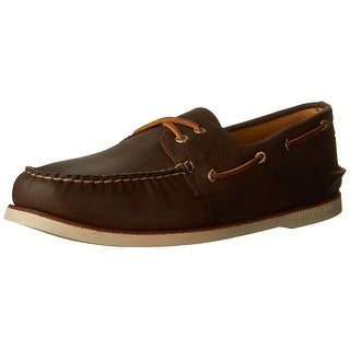 Sperry Men's Shoes Gold Cup A/O 2-Eye Boat Shoe - brown/buc brown