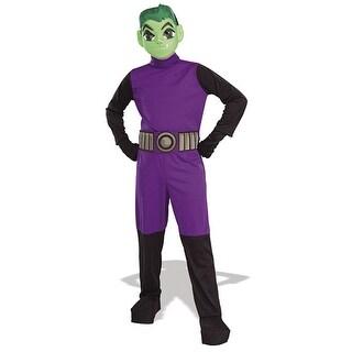 Teen Titans Costume Beast Boy - Medium