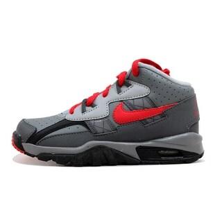 Nike Pre-School Air Trainer SC Cool Grey/University Red-Black-Dark Grey 579807-001