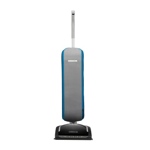 Oreck HEPA Swivel Upright Bagged Vacuum Cleaner, Lightweight Machine for Pets and Home, 35 ft. Power Cord, UK30305PC, Blue