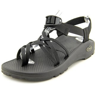 Chaco Zx2 Unaweep Women Open-Toe Canvas Black Sport Sandal
