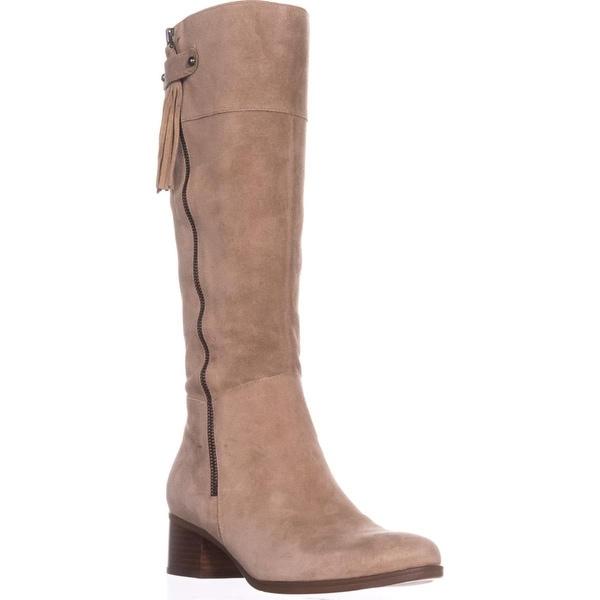 naturalizer Demi Riding Boots, Oatmeal - 9.5 us / 39.5 eu