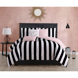 Link to Juicy Couture Cabana Stripe 6-Piece Reversible Set Similar Items in Comforter Sets