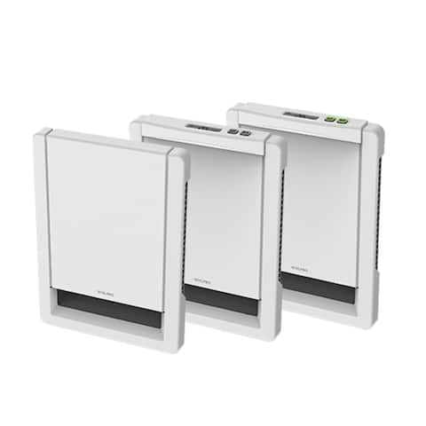 """12.25"""" White Wall Heater Insert Style Without Control 1000W, 240V"""