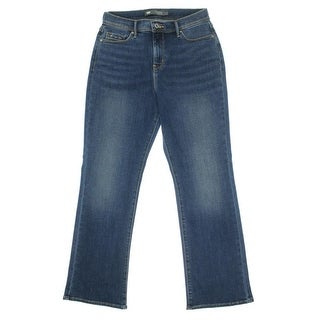 Levi's Womens Perfectly Slimming Embellished Tummy Slimming Bootcut Jeans