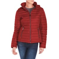 Michael Michael Kors Red Quilted Packable