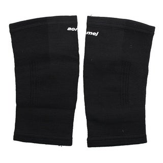 Adult Athletic Pullover Elbow Support Protector Black