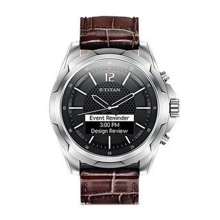 """HP Titan Watch Stainless Steel Titan Watch - Rose Gold"""