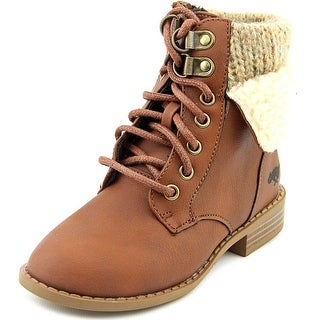 Rocket Dog Orlenna Youth  Round Toe Synthetic Brown Ankle Boot