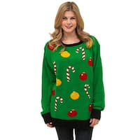 Tis The Season Sweater, Ugly Christmas Sweater - Green
