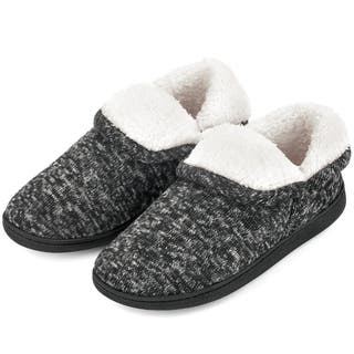 VONMAY Women's Fuzzy Slippers Boots Memory Foam Booties