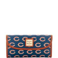 Dooney & Bourke NFL Chicago Bears Continental Clutch Wallet (Introduced by Dooney & Bourke at $128 in Aug 2016)