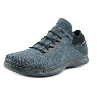 Skechers Go Step Lite - Effortless Women Round Toe Synthetic Gray Walking Shoe