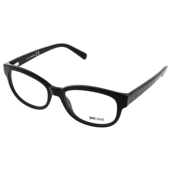 cfb4d3a27801b Shop Just Cavalli JC0532 V 001 Black Rectangle Optical Frames - 53 ...