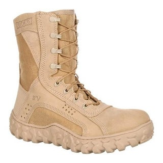 "Rocky Men's S2V 8"" Steel Toe 6101"" Desert Tan"