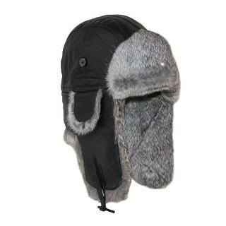 Wigens Mens Carlo Leather Aviator Hat