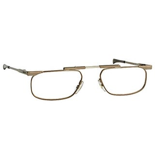 Kanda Slimfold Model 5 Brown Temples 2.25 Folding Reading Glasses