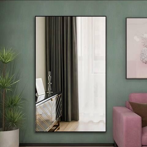 71''x31'' Huge Modern Framed Full Length Floor Mirror