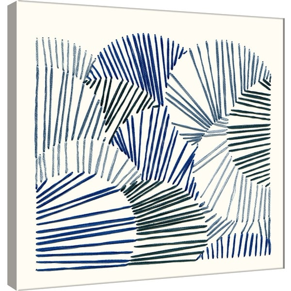 """PTM Images 9-101195 PTM Canvas Collection 12"""" x 12"""" - """"Thread Abstract 1"""" Giclee Abstract Art Print on Canvas"""