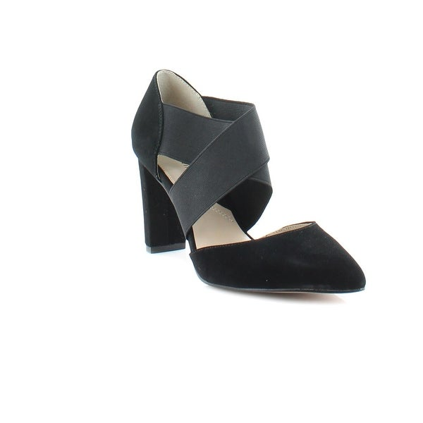Adrienne Vittadini Nancele Women's Heels Black