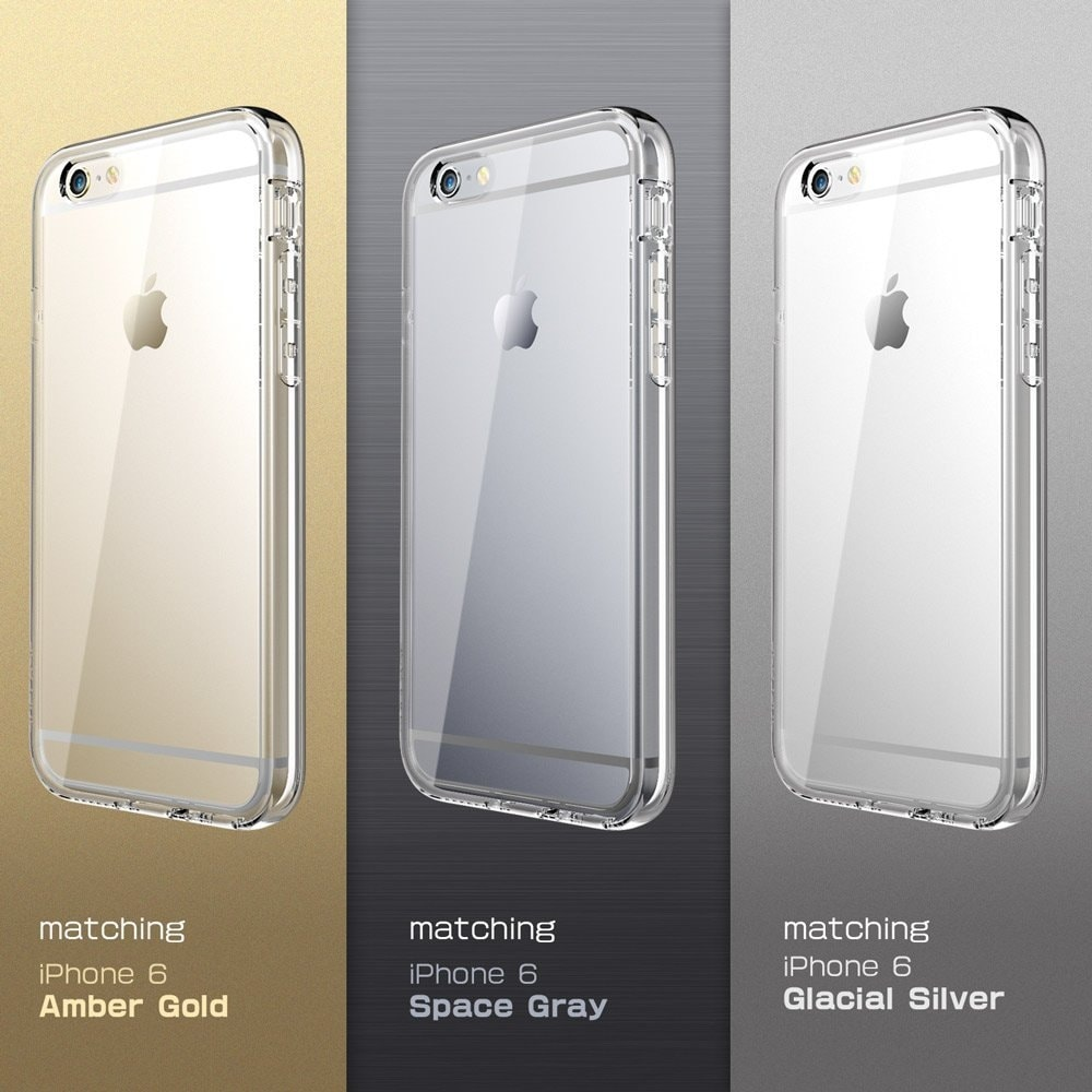 wholesale dealer 58f41 06830 iPhone 6S Plus Case, SUPCASE Ares Full-body Rugged Clear Bumper Case with  Built-in Screen Protector for Apple iPhone 6