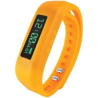 Supersonic Bluetooth Smart Wristband Fitness Tracker (orange)