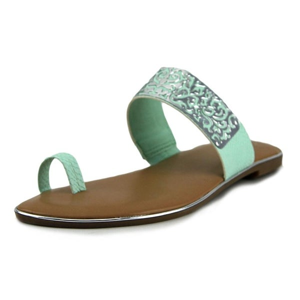 Bar III Vienna Women Open Toe Synthetic Thong Sandal