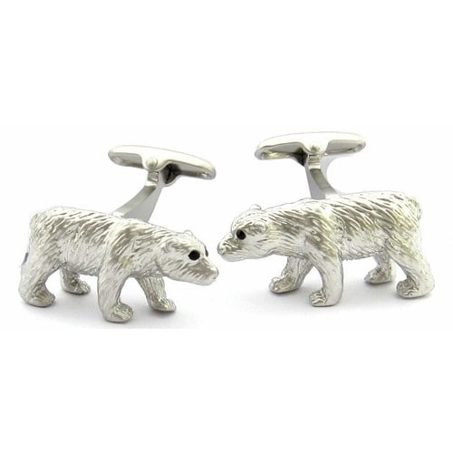 Polar Bear Cufflinks Animal