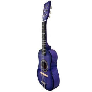 Envo Toys Acoustic Toy Guitar Musical Instrument Play Set Purple