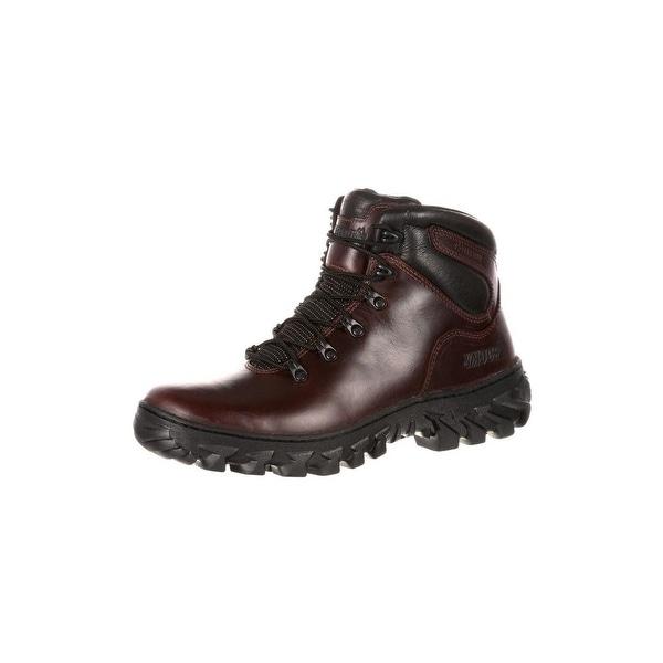 Rocky Outdoor Boots Mens S2V Jungle Hunter Waterproof Brown