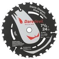 Bosch/rotozip/skil  7.25 in. 24 TPI Daredevil Blade For Portable Saws
