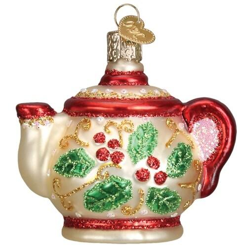 Holly Teapot
