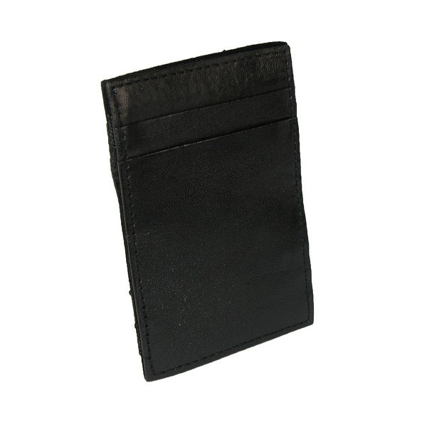 CTM® Men's Leather Slim Magic Wallet - One size