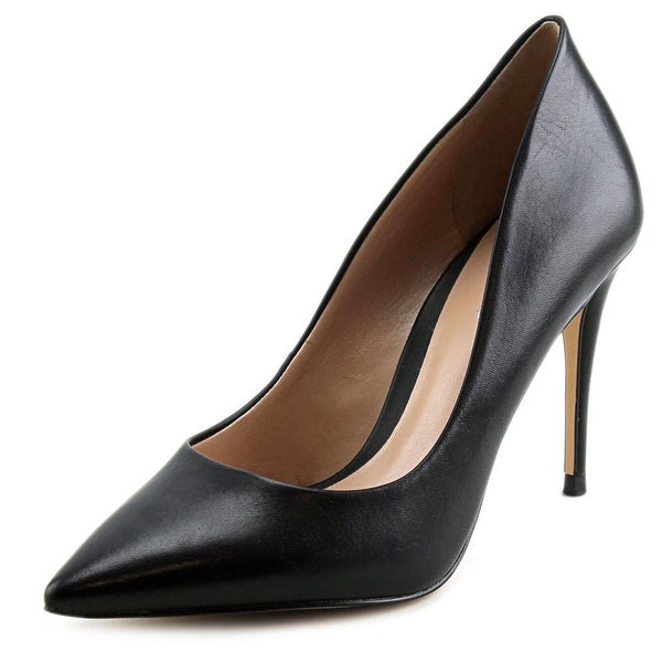 Aldo Uloaviel Women Pointed Toe Leather Black Heels
