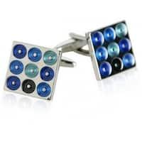 Blue Turntables Cufflinks