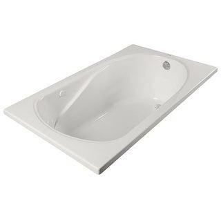 """PROFLO PFS6032A 60"""" x 32"""" Drop In Soaking Bath Tub"""