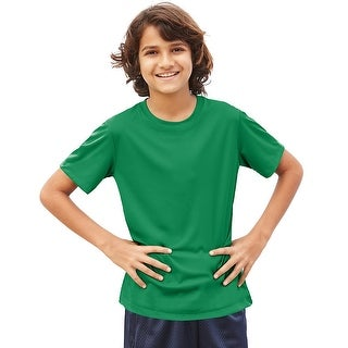 Hanes Cool DRI® Youth T-Shirt - Size - XS - Color - Kelly Green