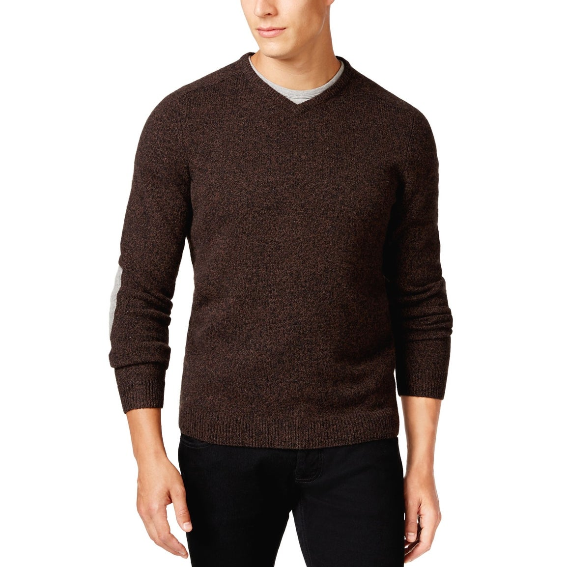 Tasso Elba Mens Cotton Wool Blend Pants
