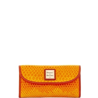 Dooney & Bourke Snake Continental Clutch (Introduced by Dooney & Bourke at $128 in Nov 2016)