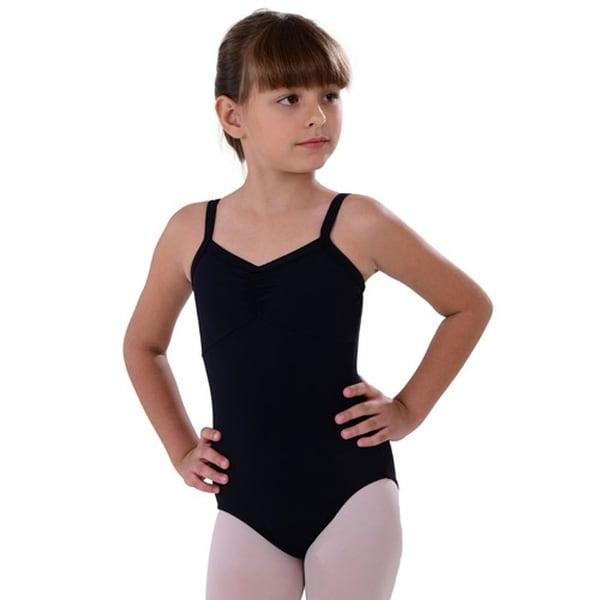 303265d9b90e6 Shop So Danca Black Camisole Rhinestone Dance Leotard Little Girls 2 ...
