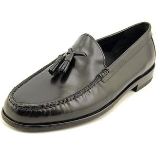 Cole Haan Fairmont Tassle II Men Round Toe Leather Black Loafer