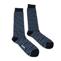 Missoni GM00CMU5231 0004 Blue/Black Knee Length Socks