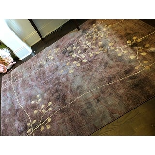 Copper Grove Uwharrie Floral Area Rug