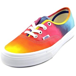 Vans Authentic Youth  Round Toe Canvas Multi Color Skate Shoe