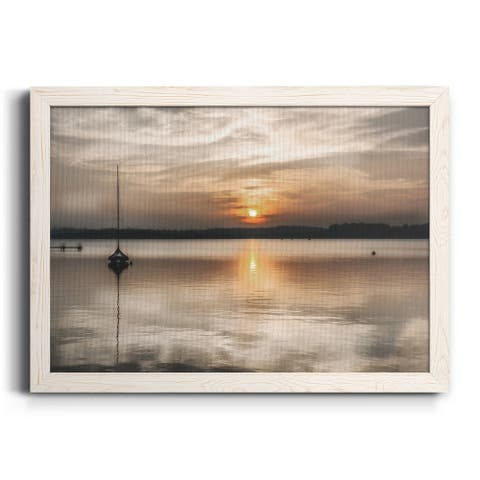 Soft Sunset-Premium Framed Canvas - Ready to Hang