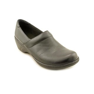 Clarks Grasp Chime Women Round Toe Leather Work Shoe